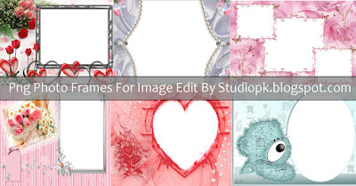 Photo Frames PNG Format For Images Editing