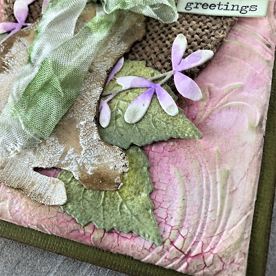 Frilly and Funkie https://frillyandfunkie.blogspot.com/2019/04/saturday-showcase-seth-apters-baked.html Spring Card Tutorial with Tim Holtz 3D Embossing Seth Apter Baked Velvet by Sara Emily Barker 22