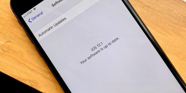 آبل تطلق رسمياً تحديث IOS 12.1 وهذه مزاياه
