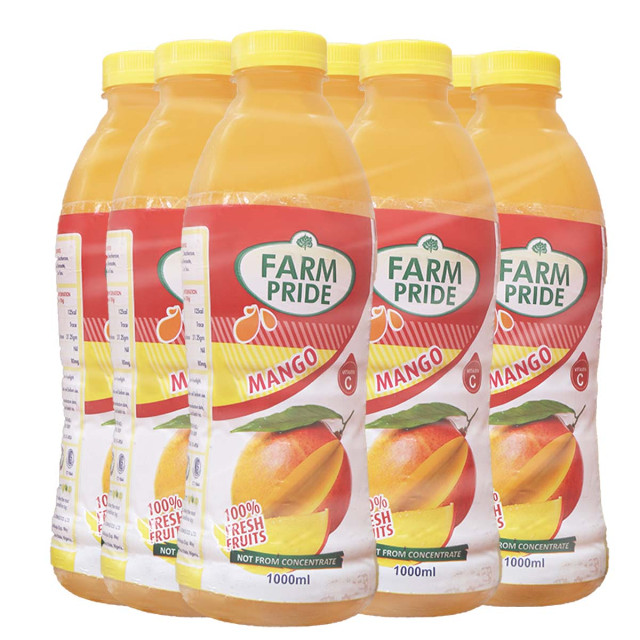 Farm Pride Mango 1 Liter x 9