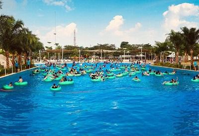 go wet grand waterpark bekasi