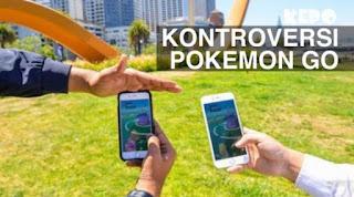 Kontroversi Pokemon Go