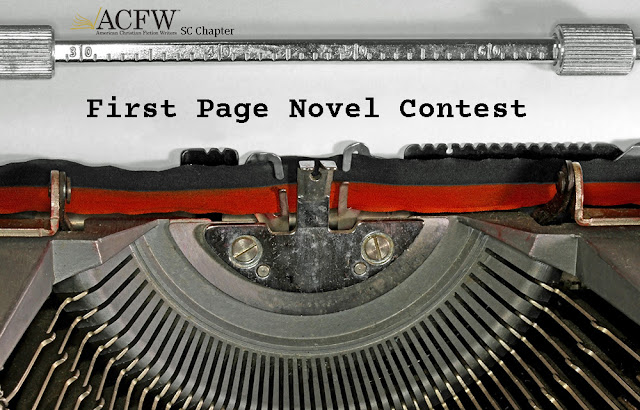 First Page Novel Contest ACFW-SC Chapter