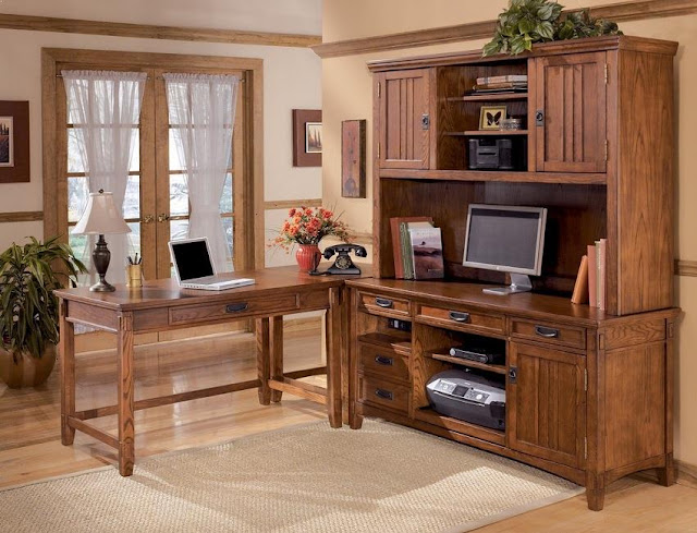 buy cheap home office desk and credenza for sale