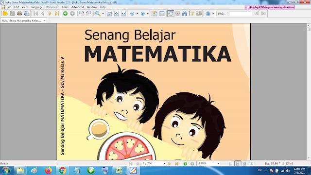 Download Buku Siswa Matematika Kelas 5 SD MI Kurikulum 2013 Revisi Terbaru