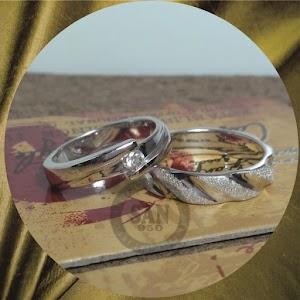 cincin emasputih perak p5748