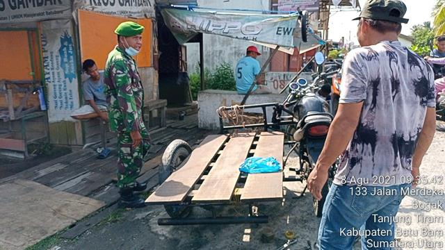 Komsos, Wujud Kedekatan Personel jajaran Kodim 0208/Asahan Dengan Warga Desa Binaan