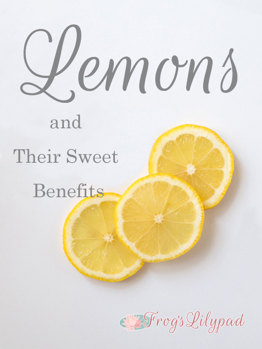 Lemons and Their Sweet Benefits: a little history, a whole lot of healthy, and a recipe. Be sure to add lemons to your grocery list.