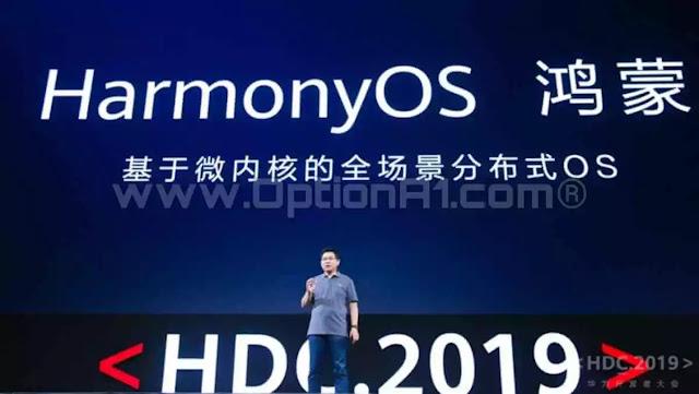 أطلاق هواوي  نظام التشغيل الجديد HarmonyOS لتشغيل الهواتف الذكية بديل الاندرويد