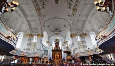Sankt Michaelis Kirche Hamburg Innen Altar