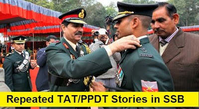 Repeated TAT/PPDT Stories in SSB Interviews