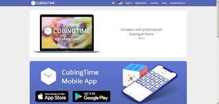 Cubing Time Website apps