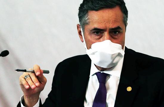 Ministro do TSE Luís Roberto Barroso. Café com Jornalista