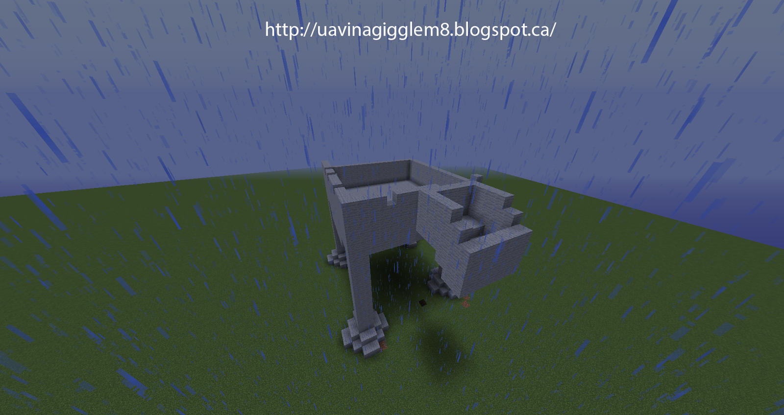 Blog Minecraft Quick Build Challenge Day 3 At At Walker