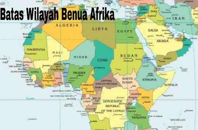 Batas Wilayah Afrika