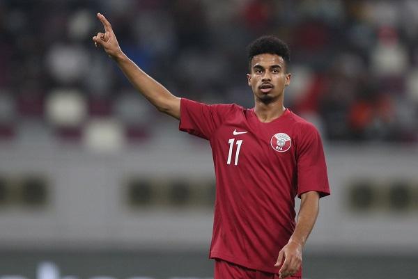 لاعب السد القطري  أكرم عفيف