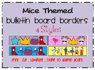 mice bulletin board borders