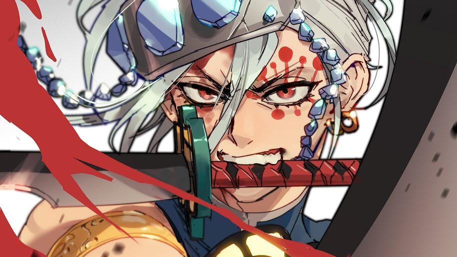 Tengen Uzui Kimetsu No Yaiba 4k 3 997 Wallpaper
