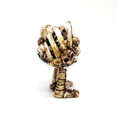 Boneyard Bloom Resin Figure by Kyle Kirwan