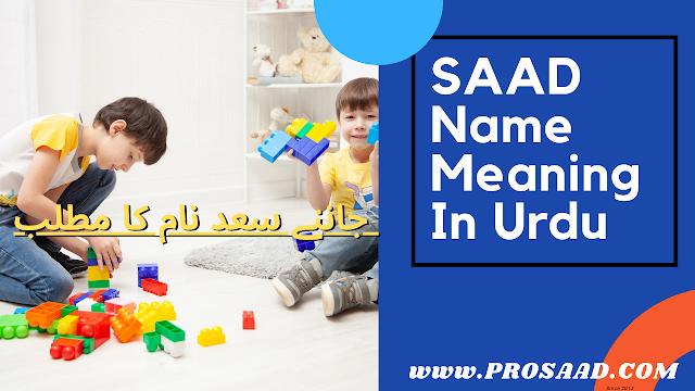 """Saad """" سعد"""" Name Meaning in Urdu & Saad Name Full Detail"""