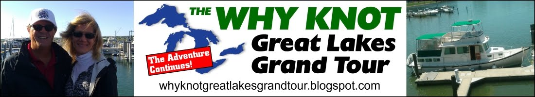 The Why Knot Great Lakes Grand Tour