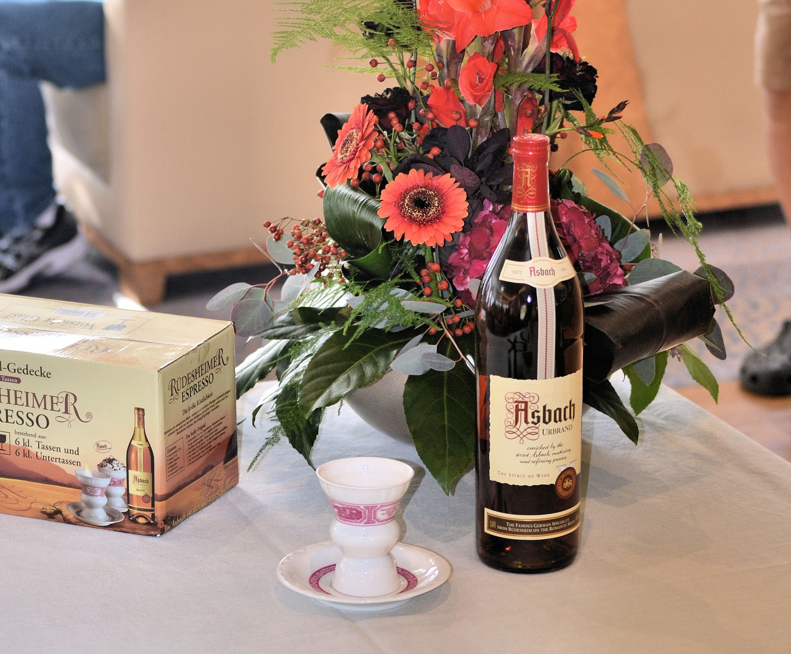 Asbach Uralt Winery tours are available but you must book in advance.