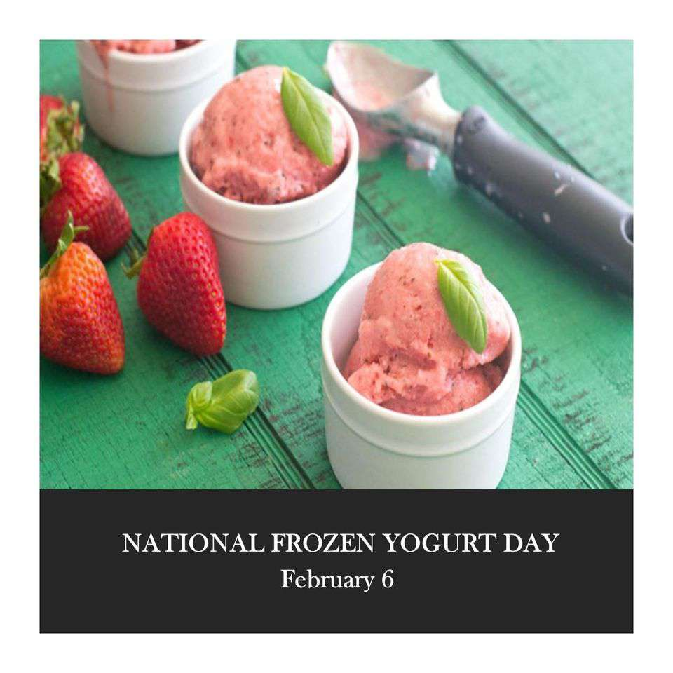National Frozen Yogurt Day Wishes Photos