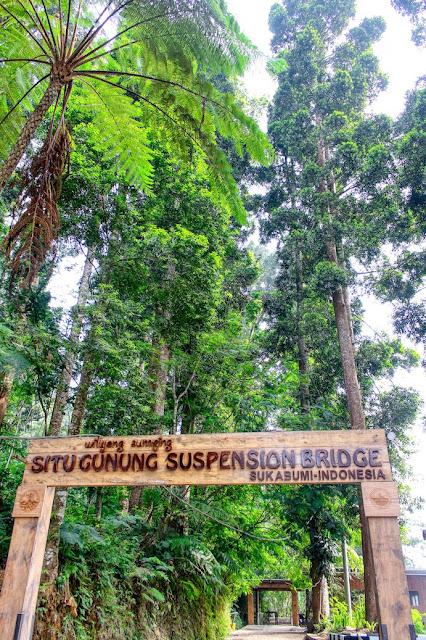 situ gunung suspension bridge sukabumi