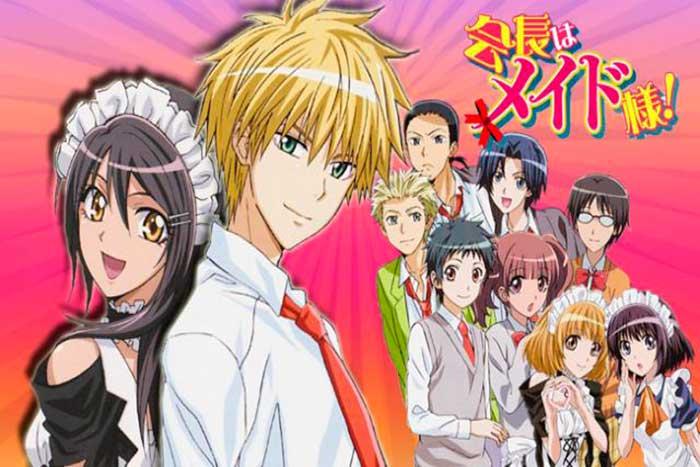 Kaichou wa Maid - sama anime romantico