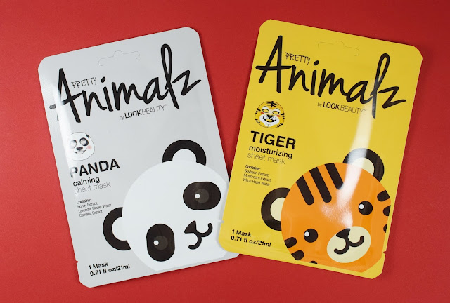 Look Beauty Animalz Sheet Masks