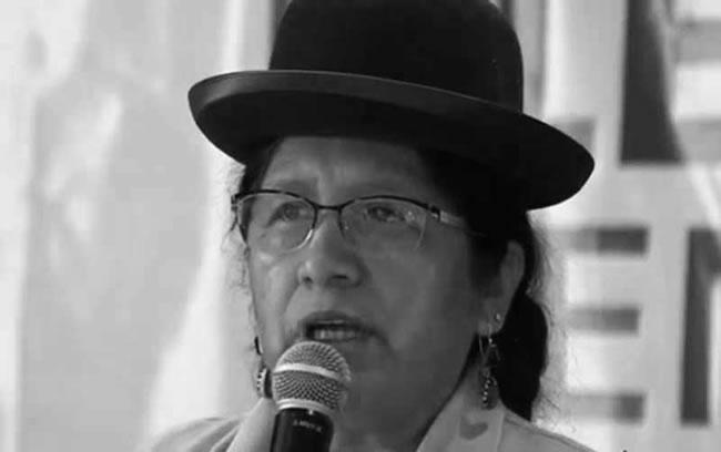 Presidenta Choque niega fraude en comicios Bolivia 2019