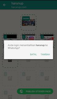 Cara Membuat Stiker Foto Sendiri Di Aplikasi WhatsApp Dengan Mudah
