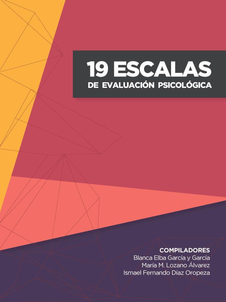 19 escalas de evaluación psicológica