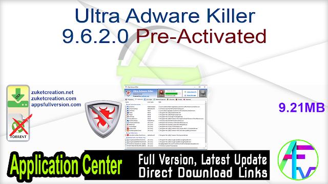 Ultra Adware Killer 9.6.2.0