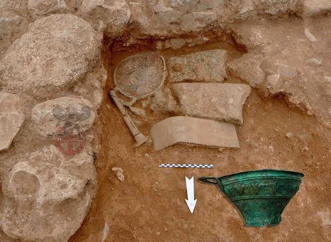 Βρέθηκε μεγάλος θησαυρός μετάλλων Μινωιτών, από τους μεγαλύτερους που έχουν βρεθεί ως σήμερα στην Κρήτη