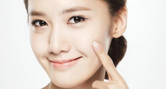 gambar cara memutihkan kulit wajah secara alami