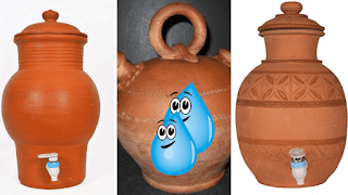 eau en pot