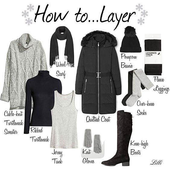 How to Layer Up