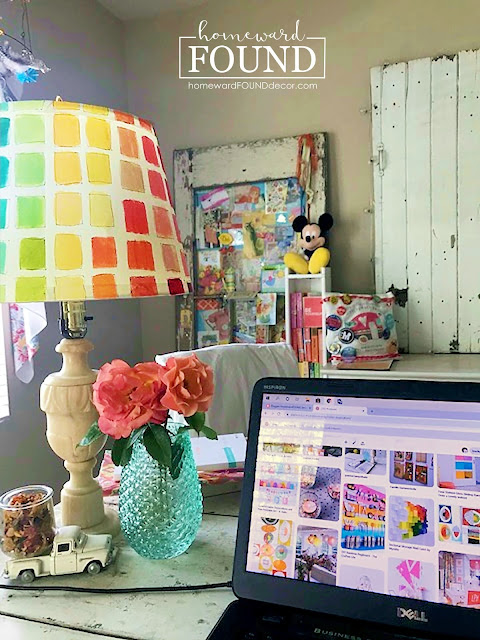 art, Blast from the Past, color, color palettes, crafting, creative spaces, DIY, diy decorating, fast cheap and easy, inspiration, makeover, neutrals, room makeovers, style, weekend makeover, What Matters, home decor, office decor, colorful decor