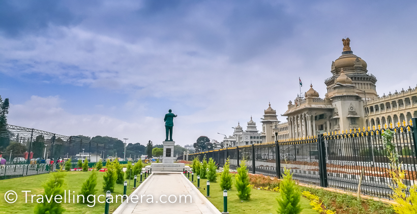 At the same time, do reach out following blog-post for better planning of your day -     A Must-do walk around Bengaluru - Vidhan Soudha, Cubbon Park, Karnataka Aquarium, Science & Art Museum