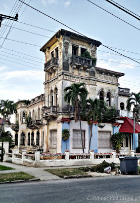 Wille w Vedado na Kubie
