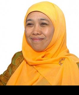 Gambar Menteri Sosial Khofifah Indar Parawansa