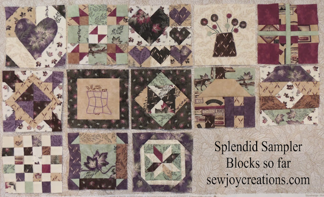 splendid sampler blocks done end of april