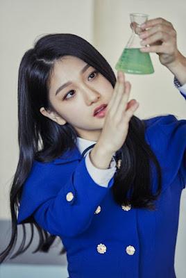 ialah girl grup gres yang terbentuk dari jadwal reality show bertajuk Idol School yang  Profil, Biodata, Fakta Fromis_9