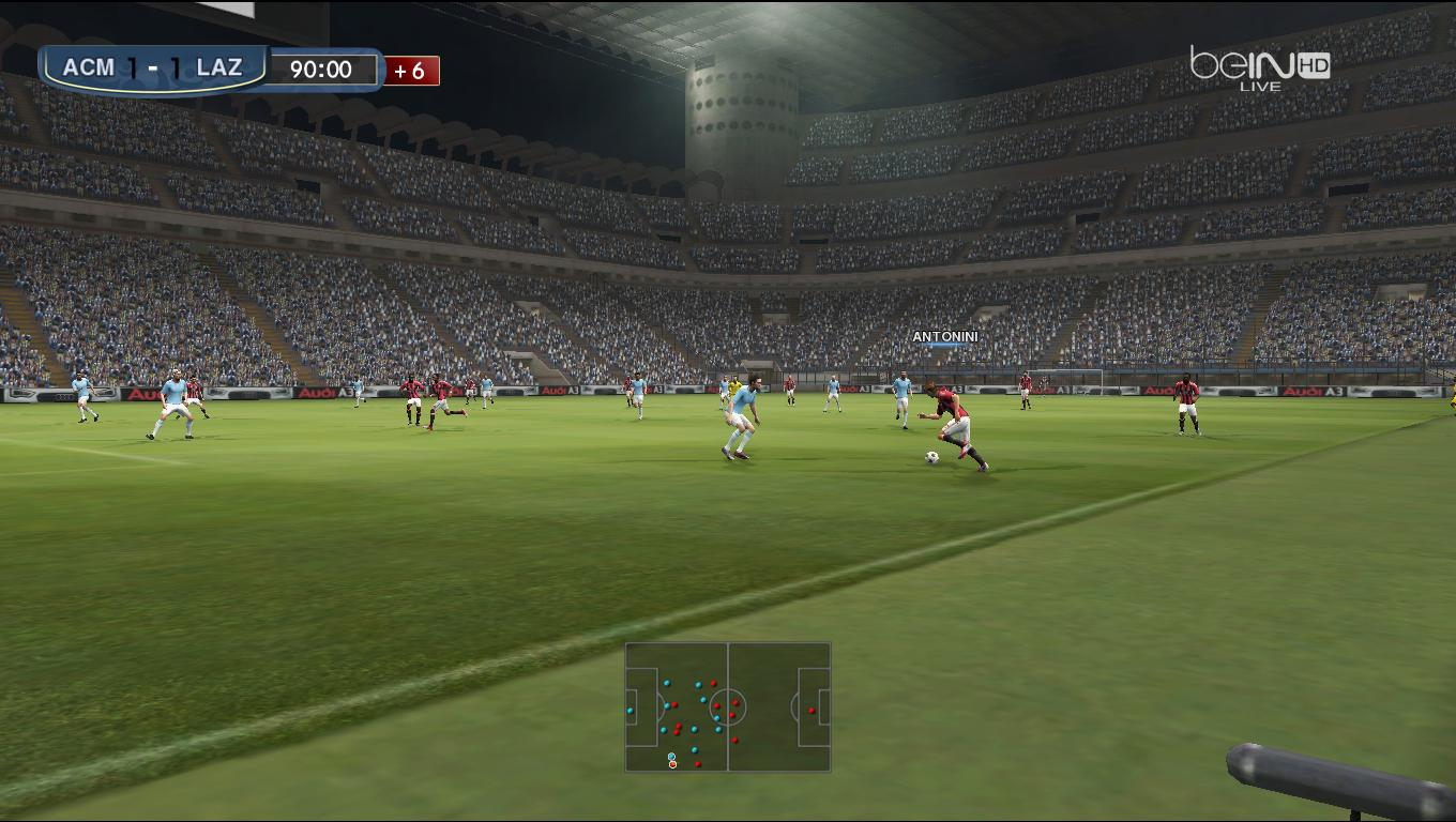 Serie A: Pro Evolution Soccer 2013 At
