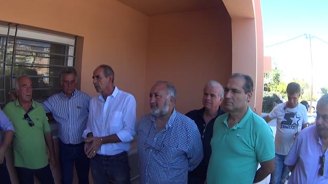 Με μικρή συμμετοχή η συμβολική κατάληψη για το κλείσιμο του ΙΚΑ Κρανιδίου