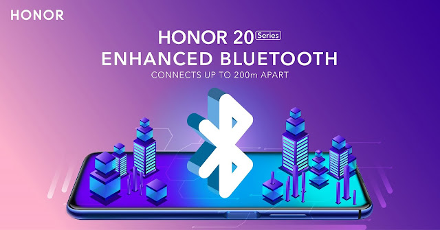 The new Bluetooth technology is launched first in the latest HONOR 20