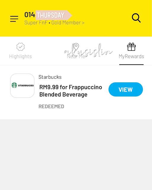 Aku Order Starbucks Guna Apps DiGi Aje, Lagi Senang Dan Murah!