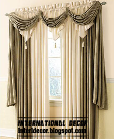 top catalog of classic curtains designs models colors in 2016. Black Bedroom Furniture Sets. Home Design Ideas