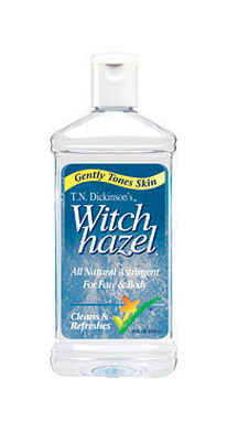 witch hazel for cooling sun burn